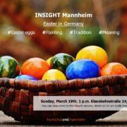 Insight Mannheim feiert das Osterfest - ein wenig früher als normal; dafür um so bunter und mit der Erklärung , was eigentlich Ostern mit dem Evangelium, der frohen Botschaft zu tun hat. Willkommen!