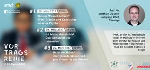 Hochschultage der christlichen Hochschulgruppen an der Uni Mannheim mit Prof. Dr. theol. Matthias Clausen (Marburg, Tabor, SMD, IGUW)