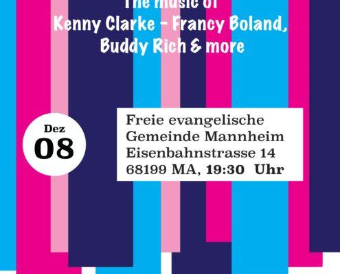 Die Bigband17 gibt am 8. Dezember ein Dankeschönkonzert in der FeG Mannheim - Jazz!